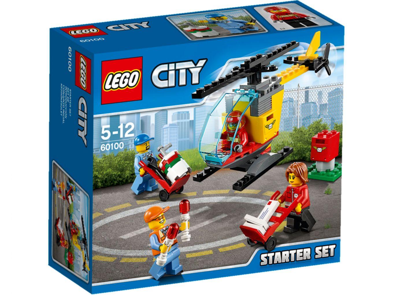 LEGO City 60100 Vliegveld Starterset