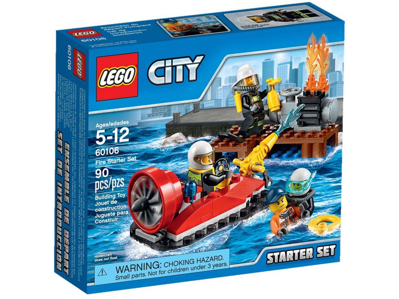 LEGO City 60106 Brandweer Starterset