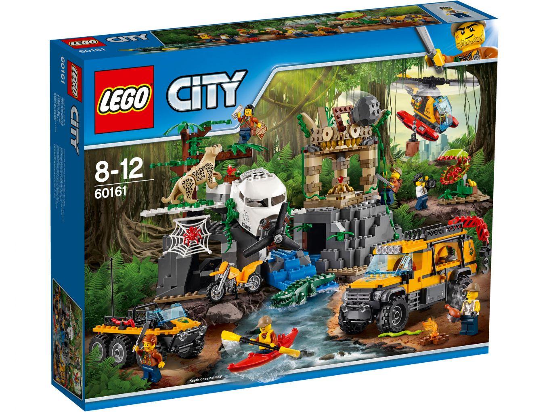 LEGO City 60161 Jungle Onderzoekslocatie