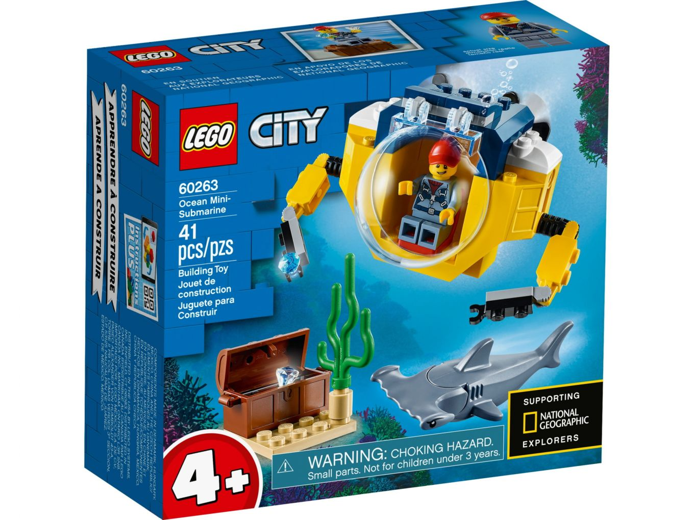 LEGO City 60263 Oceaan Mini-Duikboot
