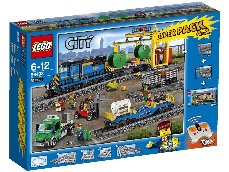 LEGO City 66493 Treinen Superpack 4-in-1