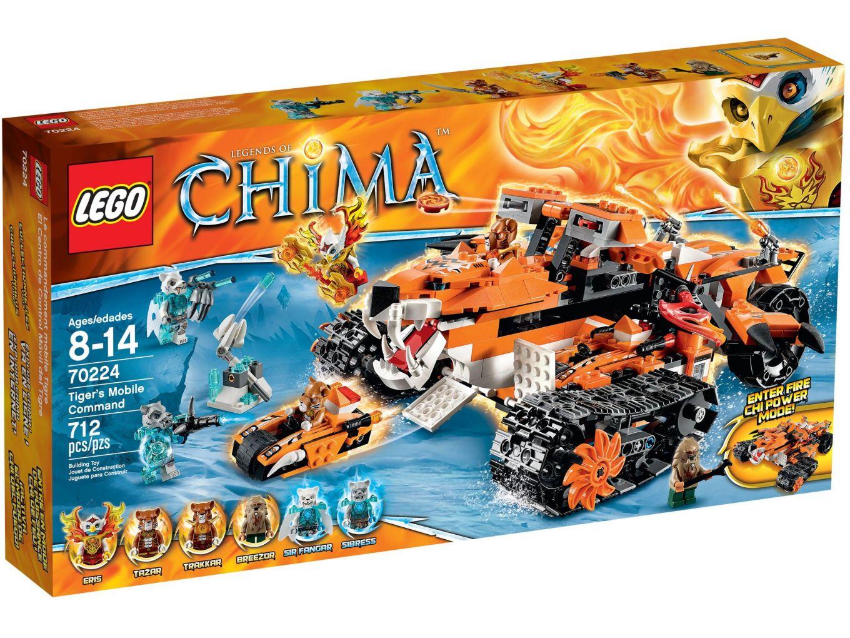 LEGO Chima 70224 Tiger's Mobiele Commandopost