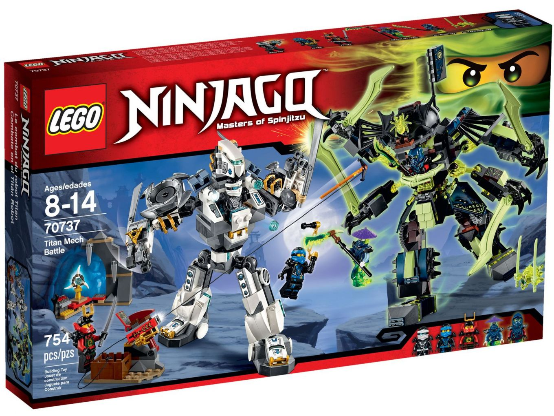 LEGO Ninjago 70737 Titanium Mecha Duel