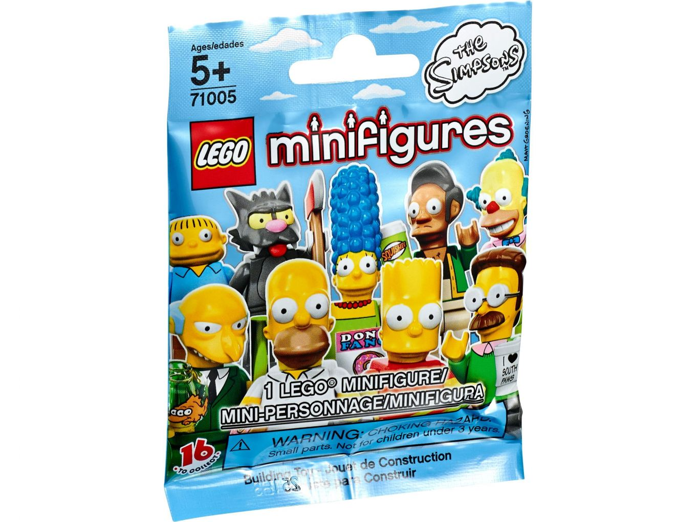 LEGO 71005 Zakje Minifigures The Simpsons