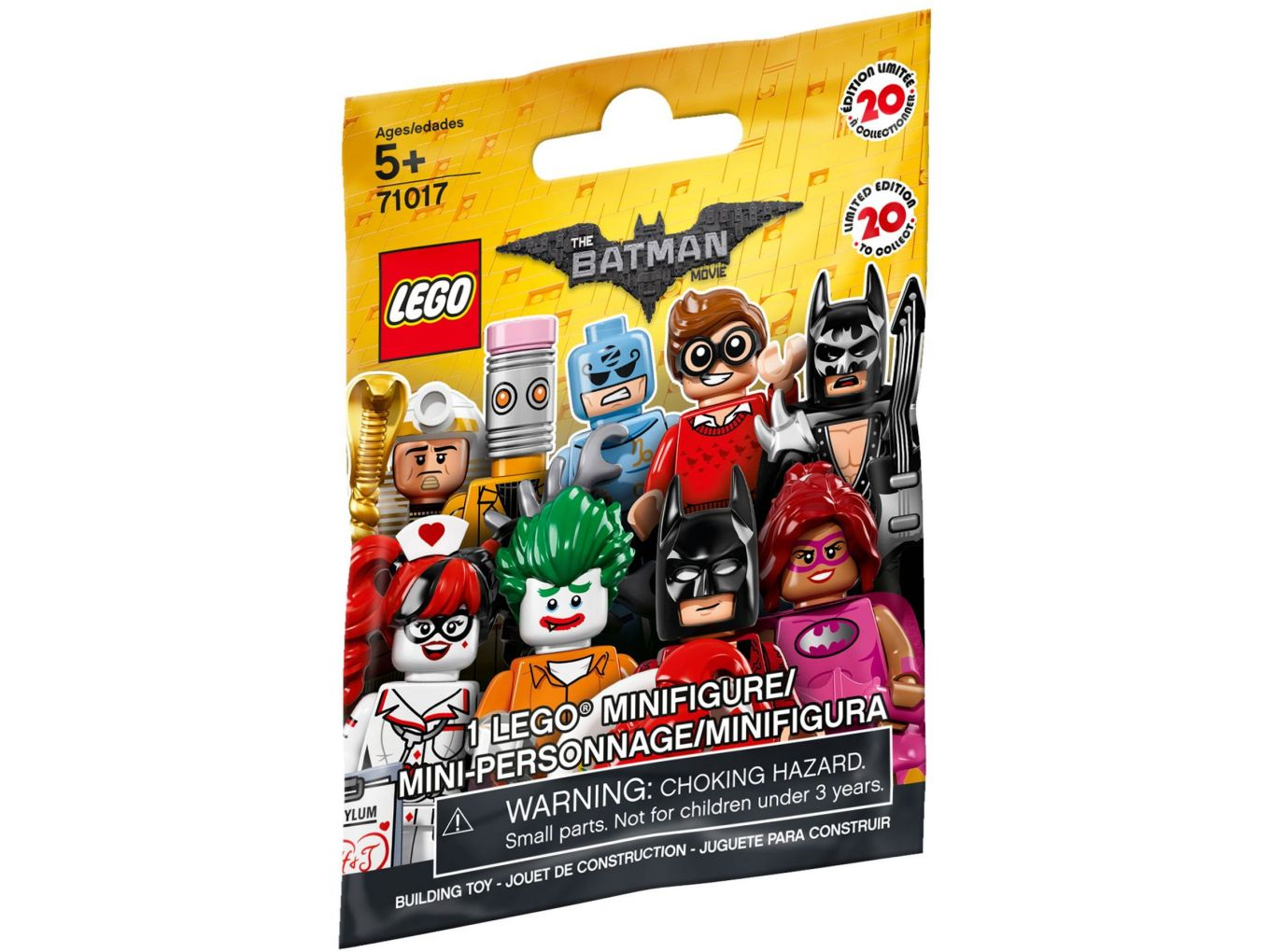 LEGO 71017 Zakje Minifigures LEGO Batman Movie