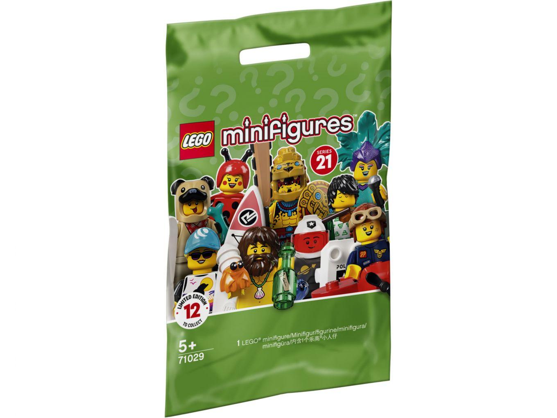 LEGO 71029 Zakje Minifigures Serie 21