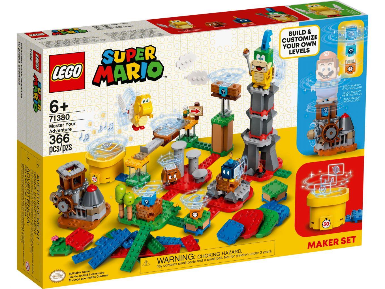 LEGO Super Mario 71380 Makersset: Beheers je avonturen