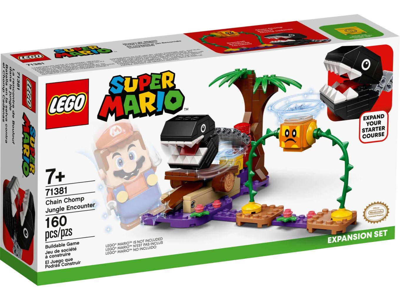 LEGO Super Mario 71381 Uitbreidingsset: Chain Chomp-junglegevecht