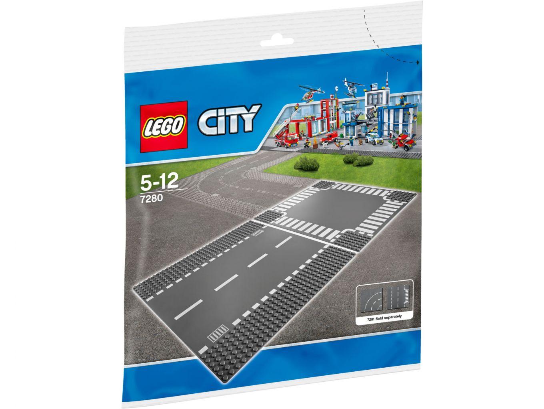 LEGO City 7280 Rechte Wegenplaten en Kruising