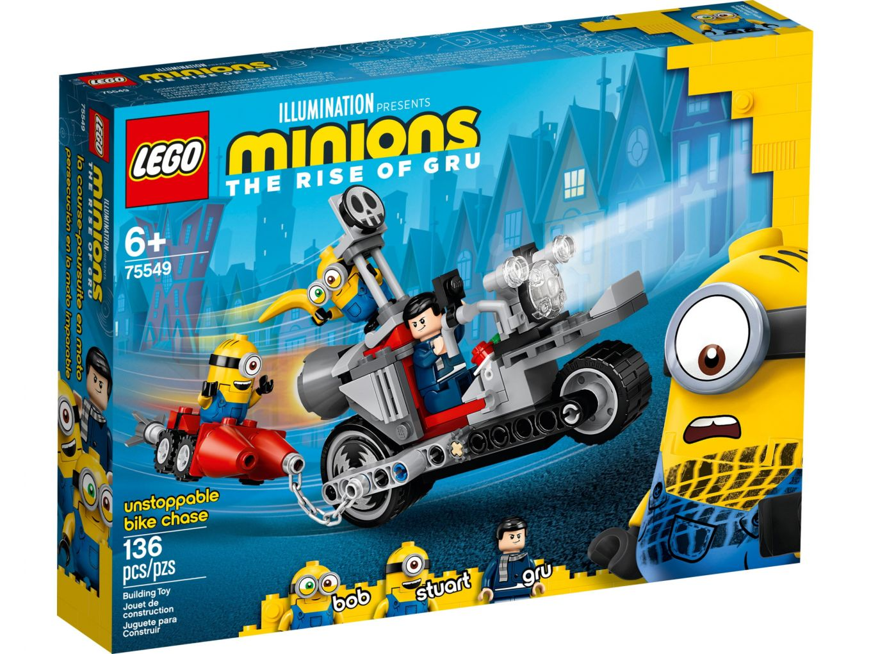 LEGO Minions 75549 Enerverende motorachtervolging
