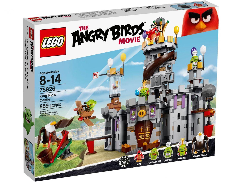 LEGO Angry Birds 75826 Het Kasteel van Koning Pig