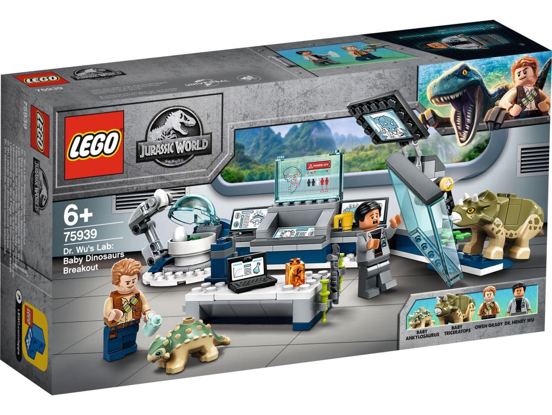 LEGO Jurassic World 75939 Dr Wu's laboratorium: Ontsnapping van de babydinosaurussen