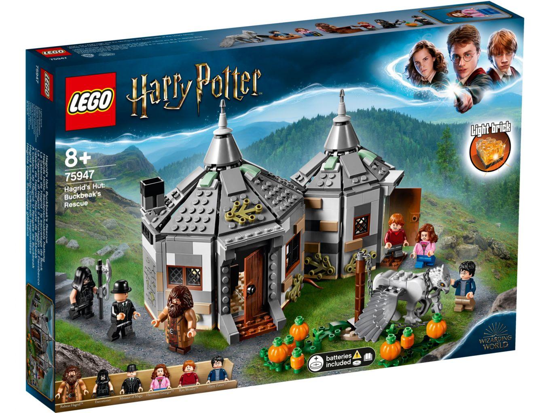 LEGO Harry Potter 75947 Hagrids huisje en Scheurbek