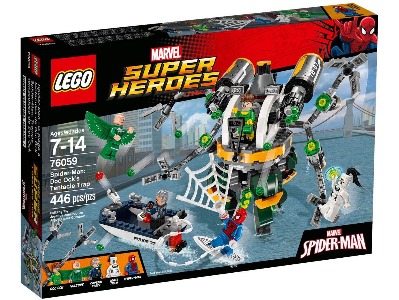 LEGO Super Heroes 76059 Spider-Man: Doc Ock's valstrik