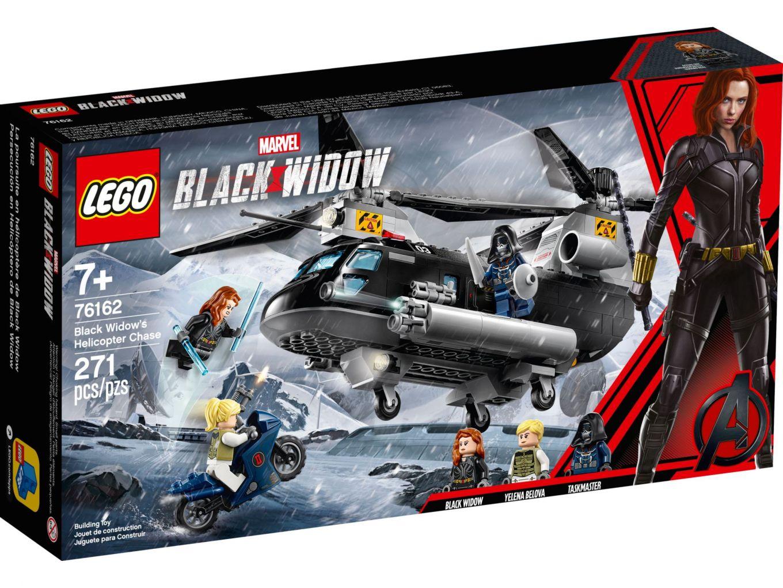 LEGO Super Heroes 76162 Black Widow's helikopterachtervolging