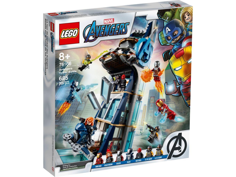LEGO Super Heroes 76166 Avengers torengevecht