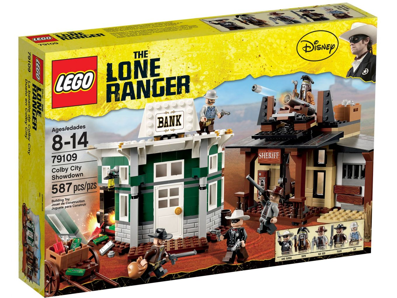 LEGO 79109 Colby City duel