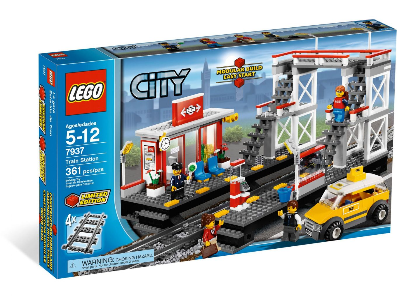 LEGO City 7937 Spoorweg station