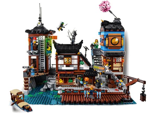LEGO 70657 Ninjago City Haven