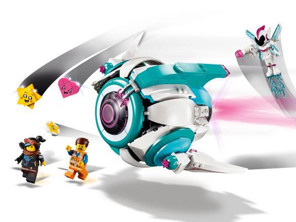LEGO Movie 2 70830 Lieve Chaos' Systar ruimteschip
