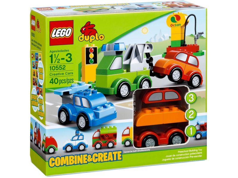 LEGO Duplo 10552 Creatieve auto's