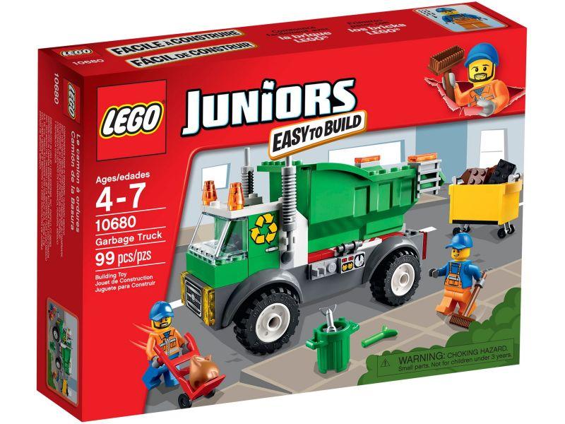 LEGO Juniors 10680 Vuilniswagen