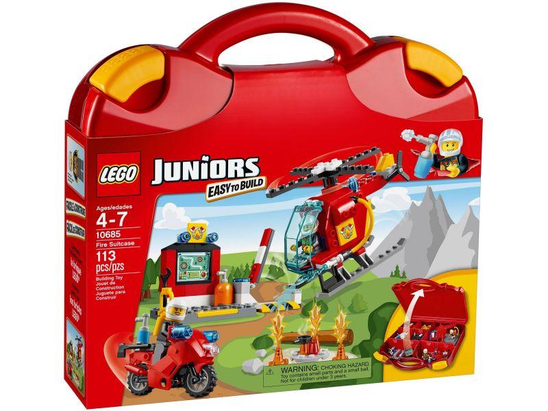 LEGO Juniors 10685 Brandweer Koffer
