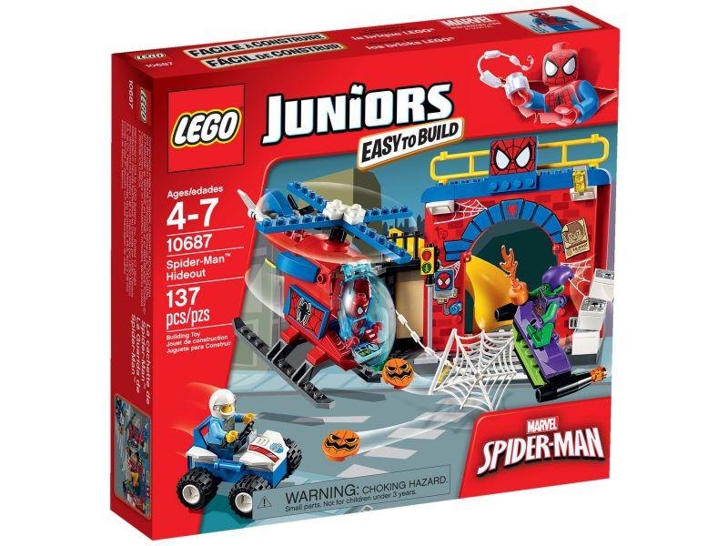LEGO Juniors 10687 Spider-Man Schuilplaats