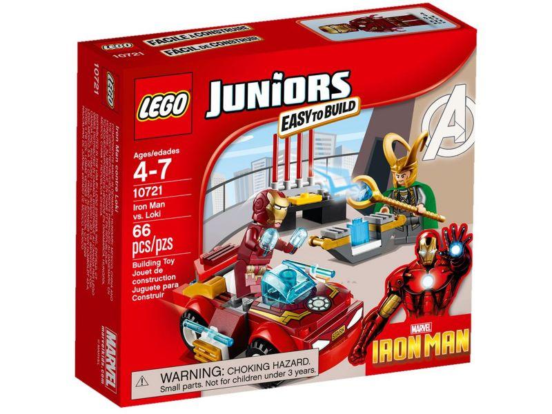 LEGO Juniors 10721 Iron Man tegen Loki