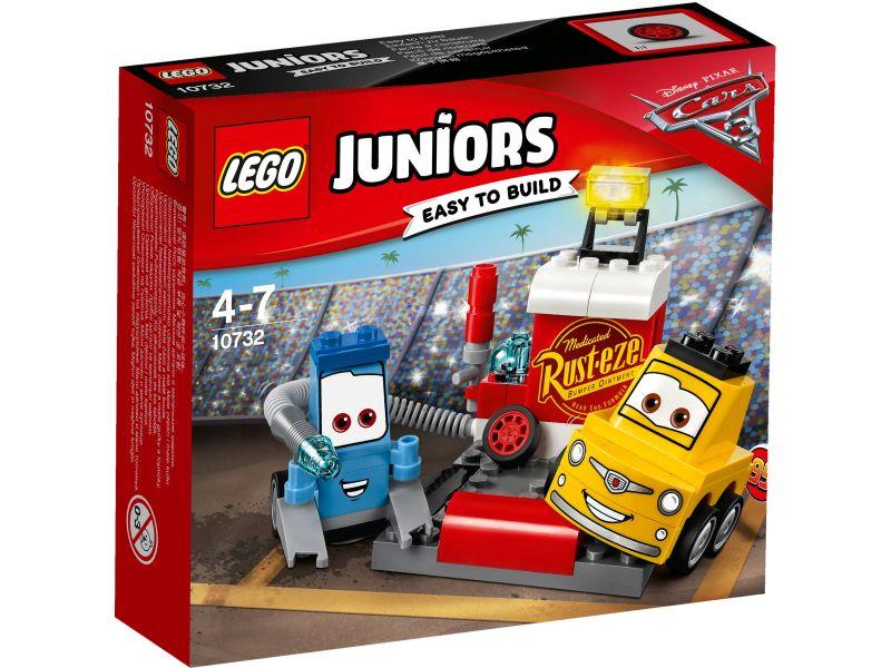 LEGO Juniors Cars 10732 Guido en Luigi's pitstop