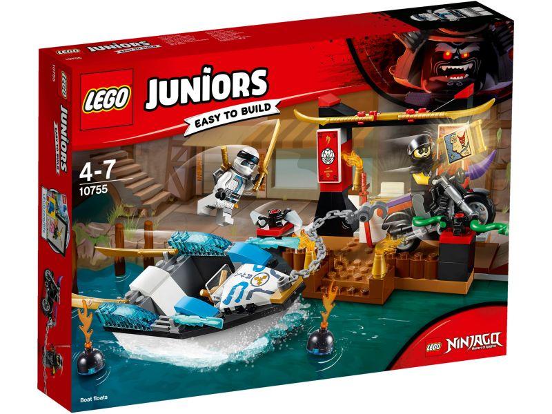 LEGO Juniors 10755 Zanes ninjabootachtervolging