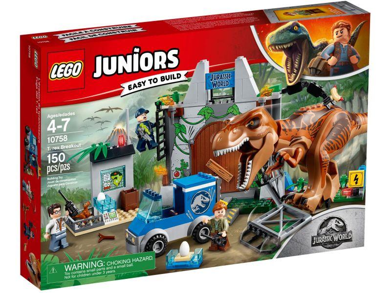 LEGO Juniors 10758 T. rex ontsnapping