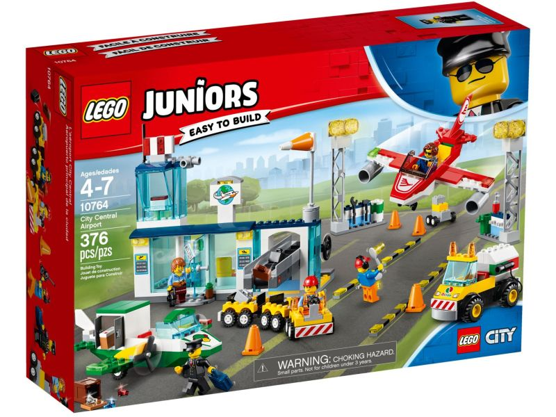 LEGO Juniors 10764 City Central luchthaven