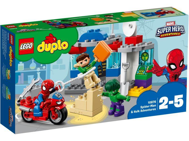 LEGO Duplo 10876 Spider-Man en Hulk avonturen