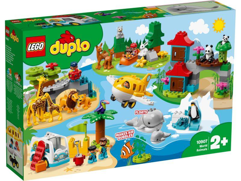 LEGO Duplo 10907 Dieren van de wereld