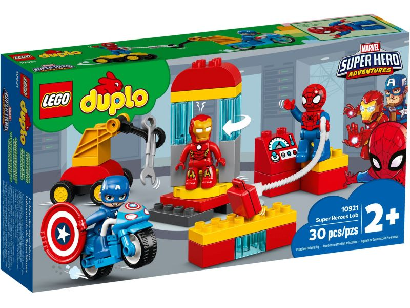 LEGO Duplo 10921 Laboratorium van superhelden