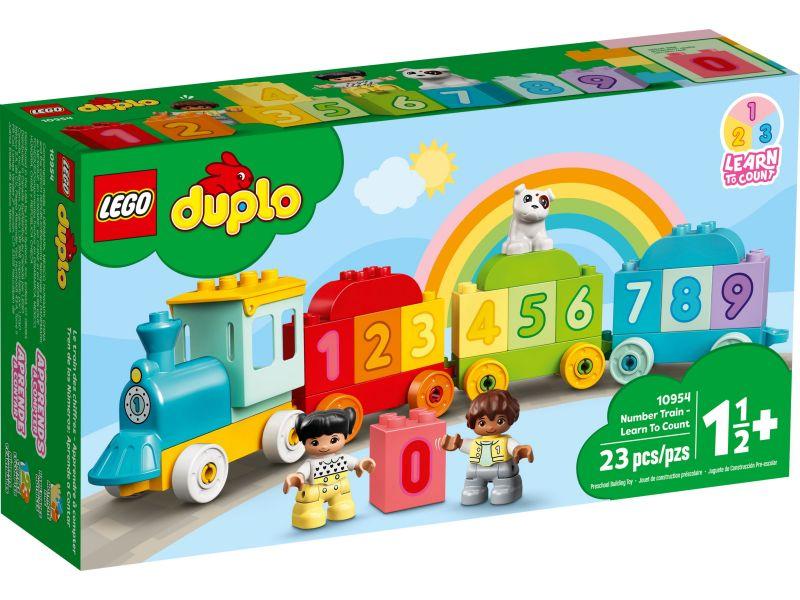 LEGO Duplo 10954 Getallentrein - Leren tellen
