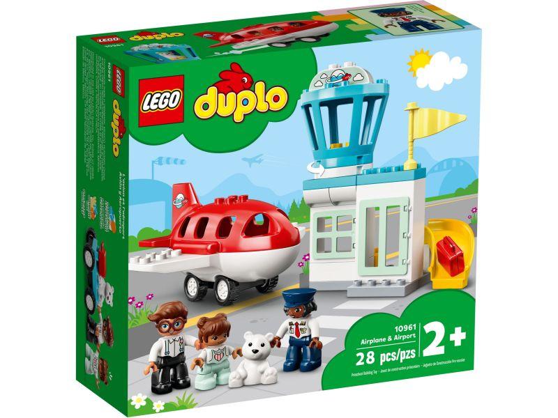 LEGO Duplo 10961 Vliegtuig & vliegveld