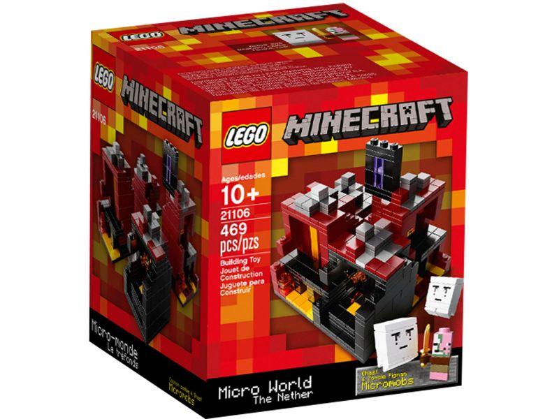 LEGO 21106 Minecraft Micro World - The Nether