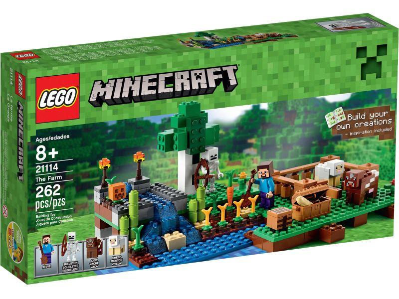 LEGO Minecraft 21114 De Kwekerij
