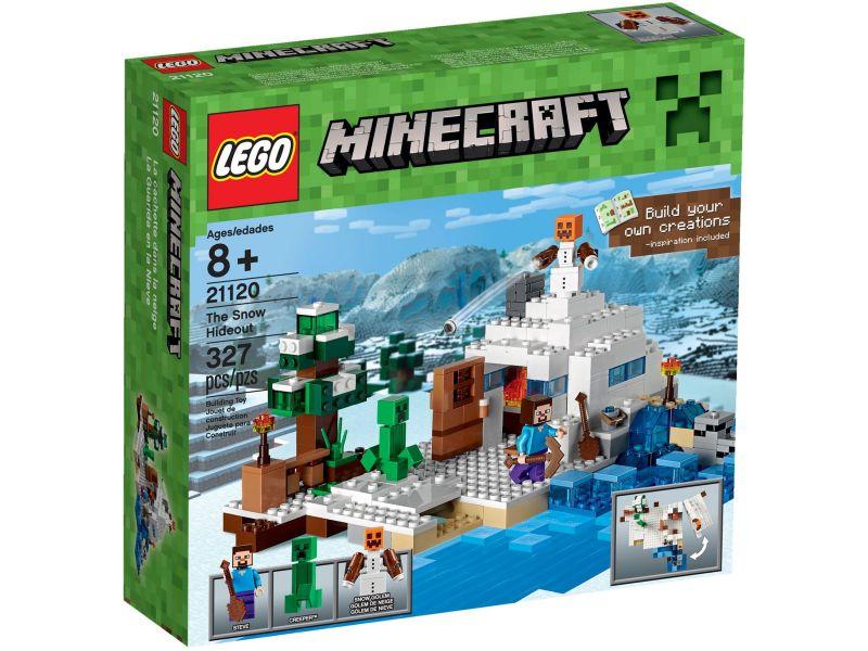 LEGO Minecraft 21120 De Sneeuwschuilplaats