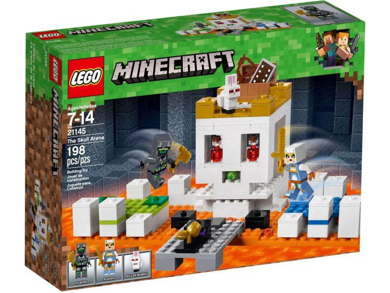 LEGO Minecraft 21145 De Schedelarena