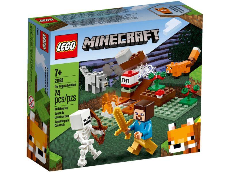 LEGO Minecraft 21162 Het Taiga avontuur