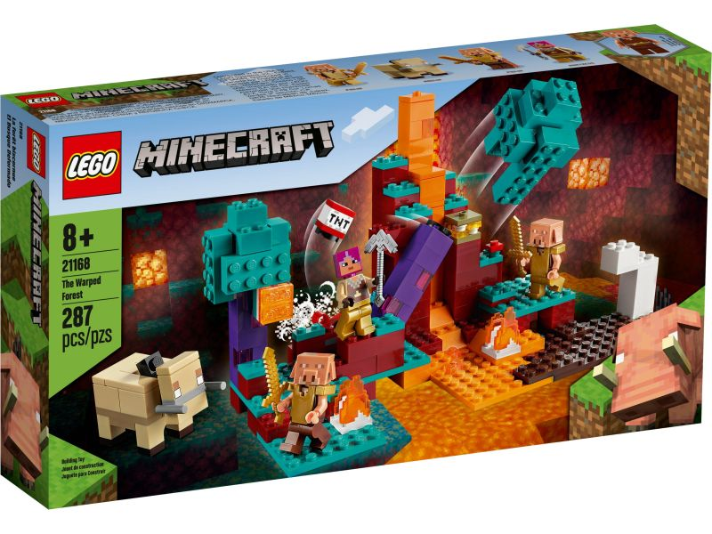 LEGO Minecraft 21168 Het verwrongen bos
