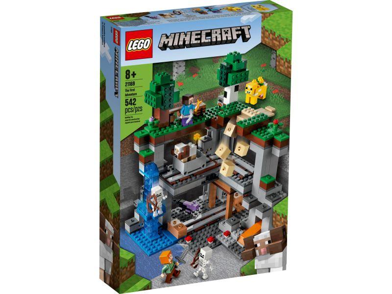 LEGO Minecraft 21169 Het allereerste avontuur