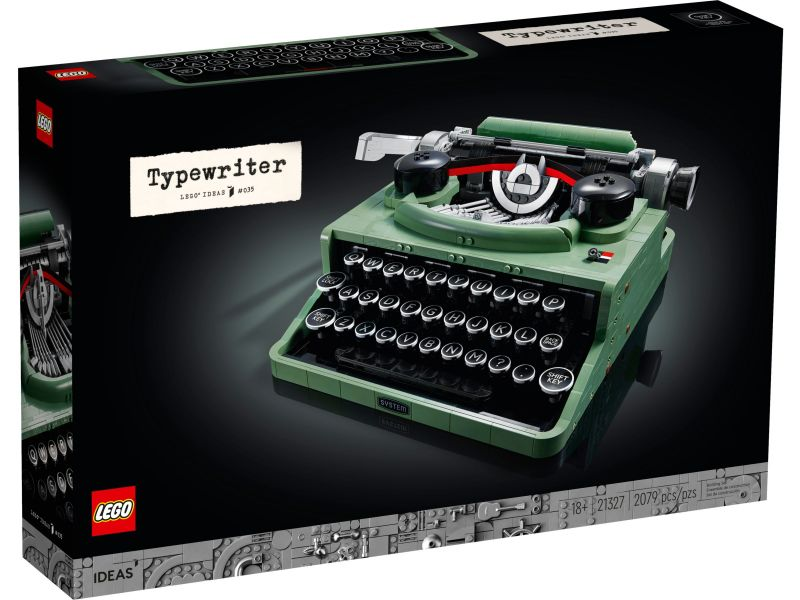LEGO Ideas 21327 Typemachine