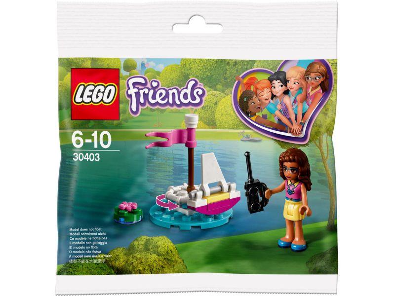 LEGO Friends 30403 Olivia's Afstand Bestuurbare Boot