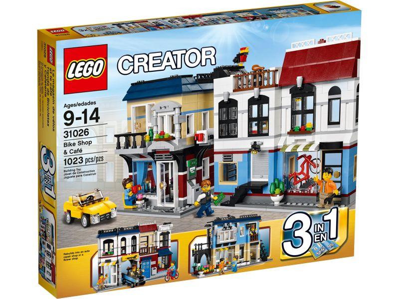 LEGO Creator 31026 Fietswinkel & Café