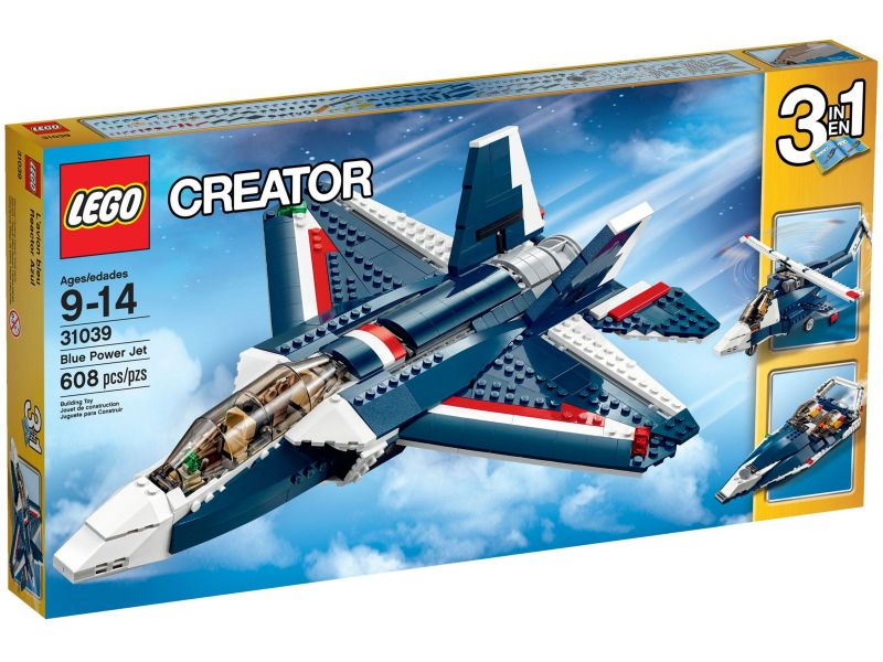 LEGO Creator 31039 Blauwe Straaljager