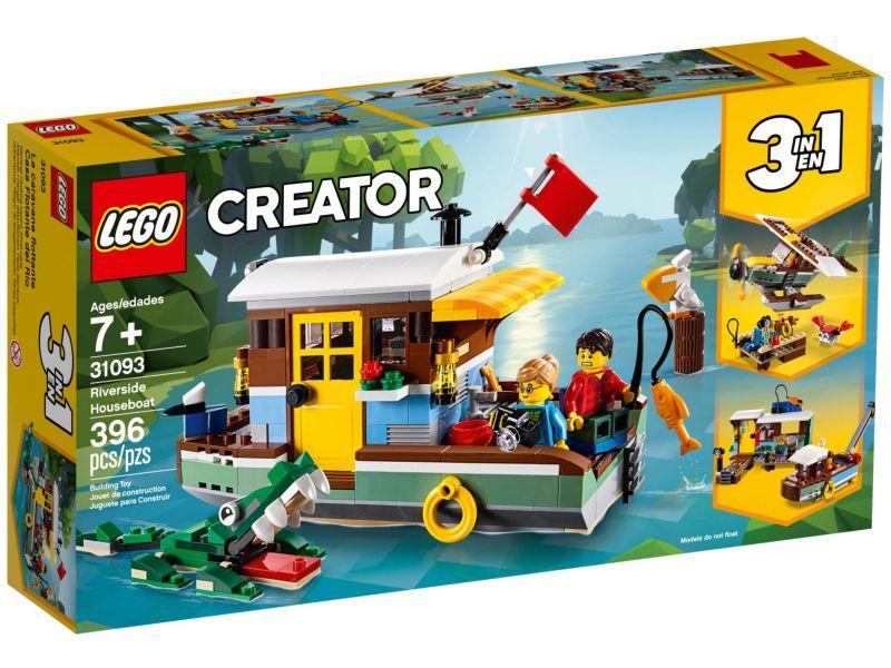 LEGO Creator 31093 Woonboot aan de rivier